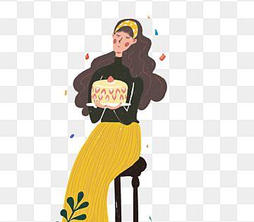 كعكة عيد ميلاد شخصيات كرتونية شخصيات كرتونية فتيات عصريات كعكة عيد ميلاد فتاة فتيات Png وملف Psd للتحميل مجانا In 2020 Flower Wallpaper Cartoon Disney Characters