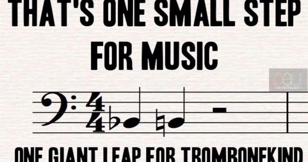 Trombone humor | Music Education | Pinterest | Trombone ...