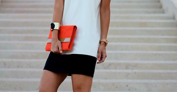 Zara Dress. Color Block Halter is a lovely decision for spring and