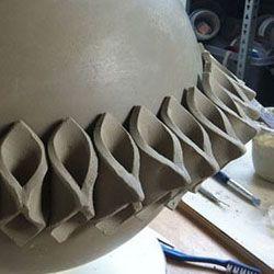 Atelier 2pk Karin Welhuis Keramiek Ceramics Projects Ceramic Techniques Ceramic Sculpture