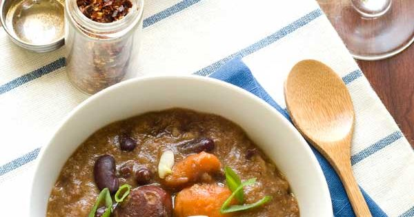 red beans and rice slow cooker soup