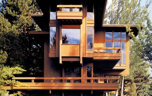 One of the few projects Julius Shulman shot in the Northwest; the