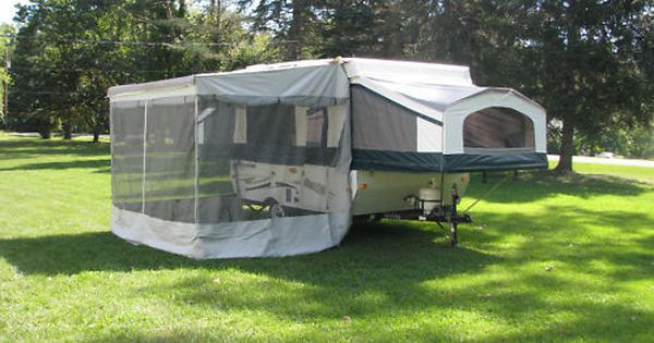 A E Trimline Screen Privacy Room For 11 Bag Awning With