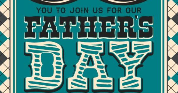 father's day event flyers