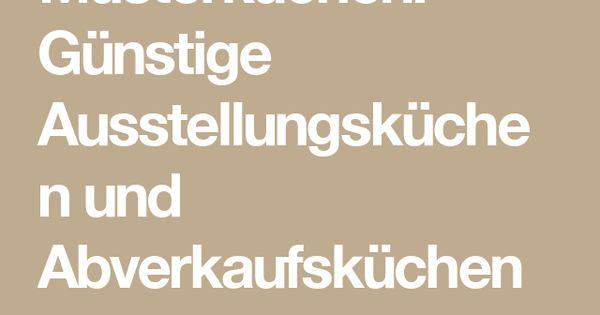 Musterküchen: Günstige Ausstellungsküchen und Abverkaufsküchen ... | {Günstige musterküchen 6}