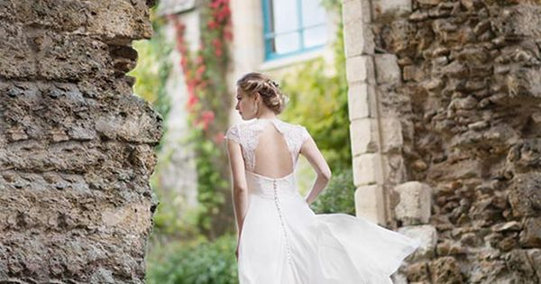 robe de mariée créateur Paris et Lyon - Inès  Robes de mariée ...