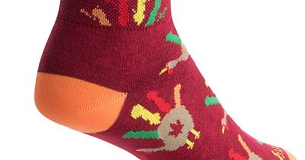 Small//Medium SockGuy Mens Fireball Socks