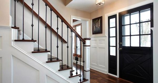 Best Center Hall Colonial Foyer Remodeling Ideas Entry 400 x 300