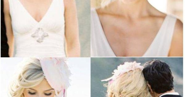Short wedding hair