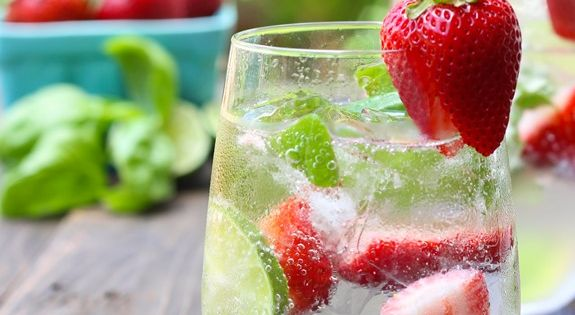 Basil, Coolers and Limes on Pinterest