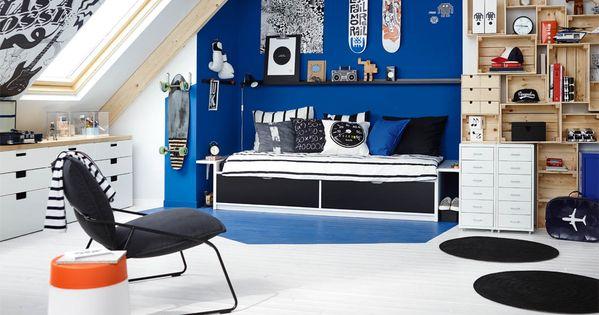 Zolder Slaapkamer Kids Boy Rooms
