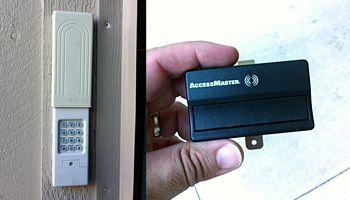 How To Change The Code On Your Garage Door Opener Garage Door Keypad Chamberlain Garage Door Garage Door Opener Keypad