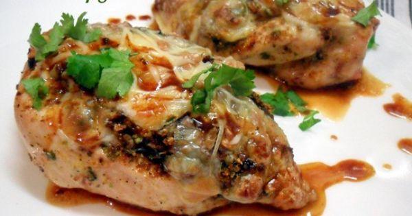 Blancs de poulet farcis aux champignons de choumicha for Allez cuisine translation