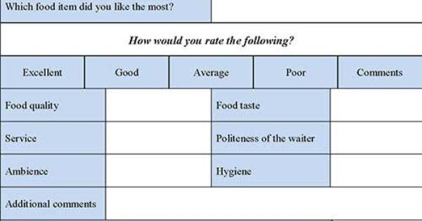 restaurant evaluation essay sample