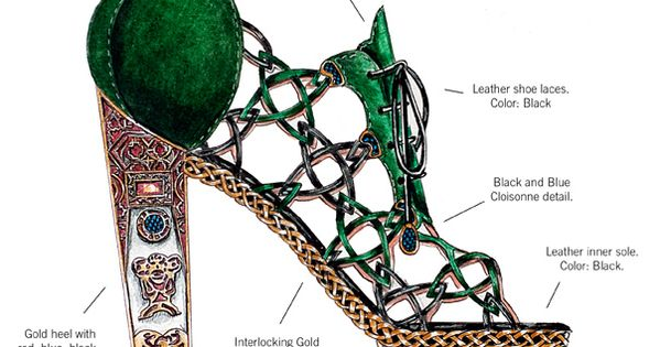 Learn Art History Through 10 Stunning Pairs Of High Fashion Heels