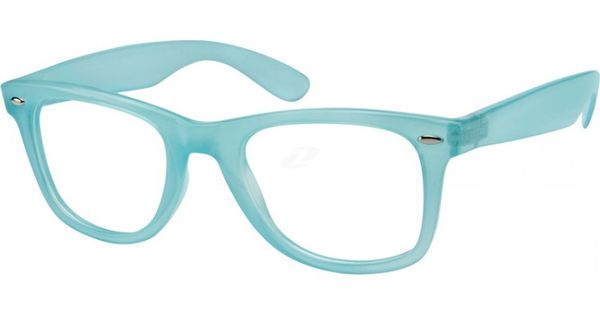 Bright Blue Glasses Frames : Bright blue frames - I ordered these with an amber tint ...