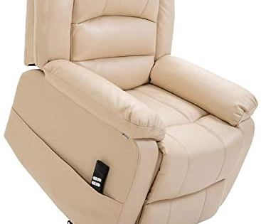 Shop For Homegear Air Leather Heavy Duty Dual Motor Power Lift Electric Recliner Chair Users 770lbs Cream Online Pptoplike In 2020 Recliner Chair Electric Recliners Cream Living Room Furniture