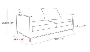 High Resolution Sofa Height 6 Sofa Height Dimensions Sofa Best Sofa Living Room Sofa