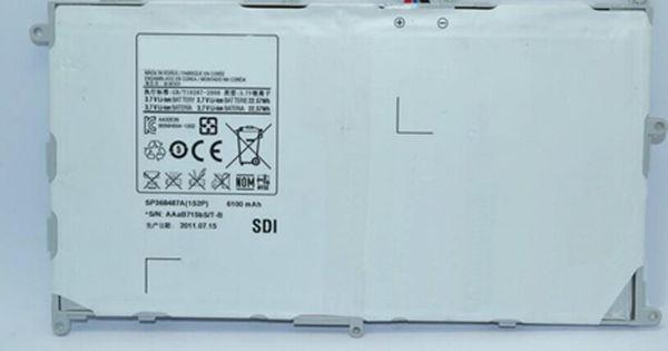 Batterie De Remplacement Pour Sp368487a 1s2p Batterie Ordinateur Portable 3 7dvc 6100mah Batterie Ordinateur Portable Batterie Ordinateur Batterie
