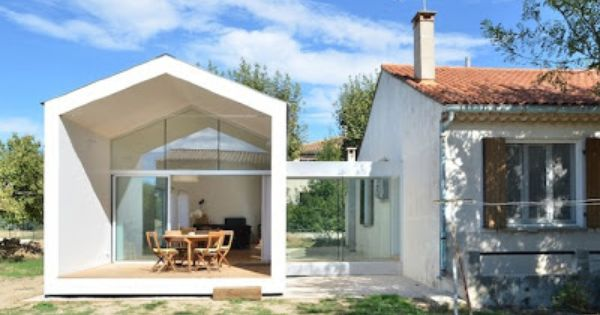 Beautifull extension architecture pinterest for Creer plan de maison 0 creer une maison insolite dans un hangar cate maison