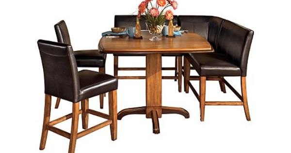 Ashley Furniture Pub Table And Chairs Dining Room Sets Furniture