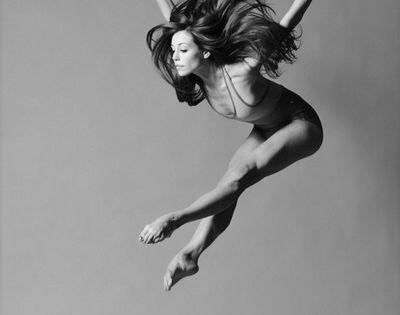model ballet inspired hair