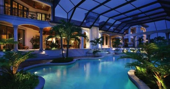 Big Mansions With Indoor Pools mansions & more - luxury homes of the 1%: an entertainer's dream