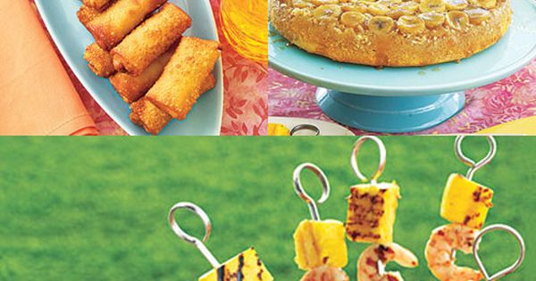 Easy to make luau food luau housewarming party and easy for Easy housewarming party food