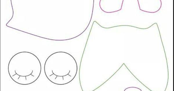 de lechuzas de tela para imprimir portal de patrones de lechuzas de