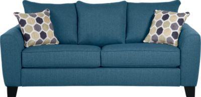 Bonita Springs Blue Sofa Blue Sofa Blue Sleeper Sofa Sprung Sofa
