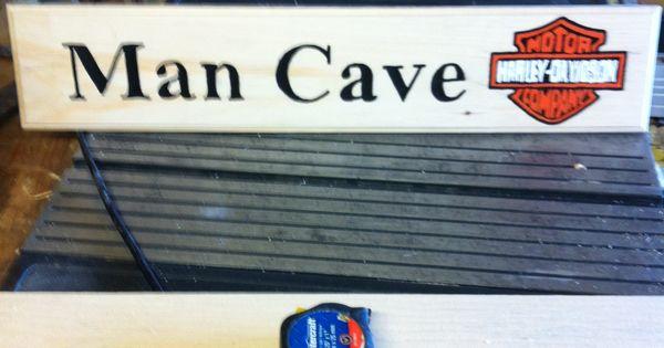 Harley Davidson Man Cave Signs : Harley davidson quot man cave sign signs pinterest