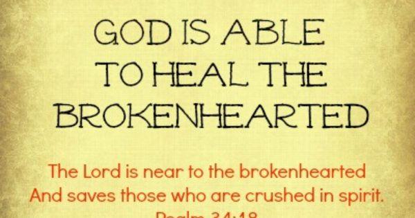 God Is Able Psalm 34 18 God Is Able Pinterest