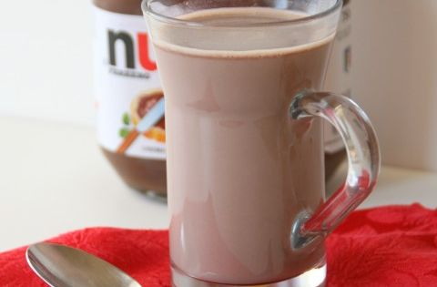 Nutella Hot Chocolate - healthy Dessert health Dessert Dessert| http://healthy-dessert-ryan.blogspot.com