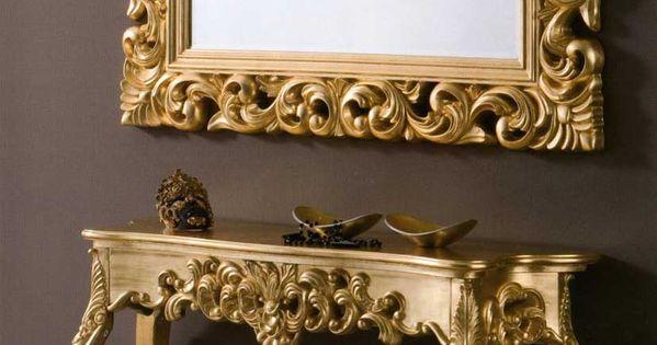 Consolas clasicas tarento oro decoracion beltran tu - Decoracion beltran ...