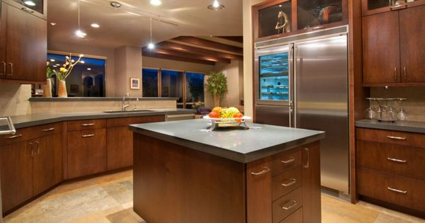 Kitchen cabinets islands kitchen cabinet design island for Kitchen design tucson
