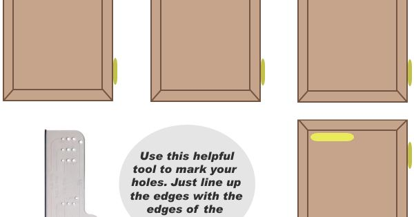 How To Position Cabinet Knobs For Installation Remodel
