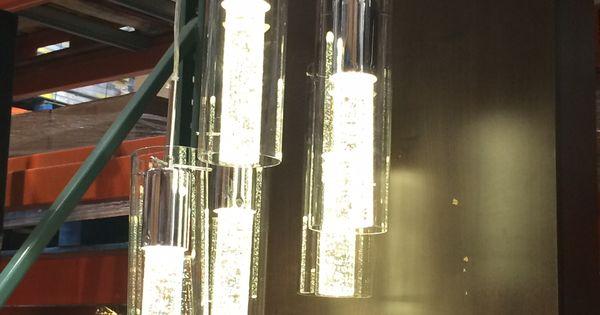 New Dining Room Light Ampere Artika Champagne Spiral