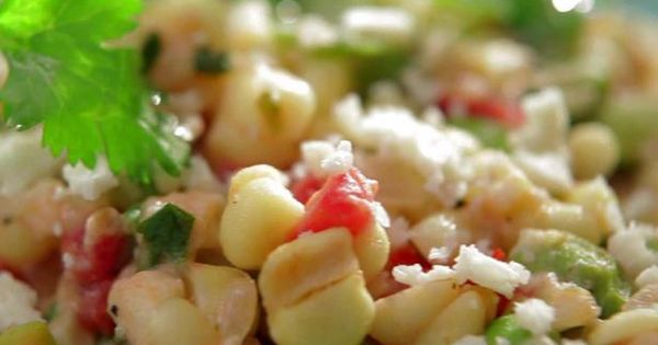 Corn succotash, Creamed corn and Dishes on Pinterest