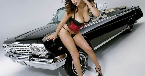 Chevy Impala Y Lowrider Girl Lowriders Pinterest