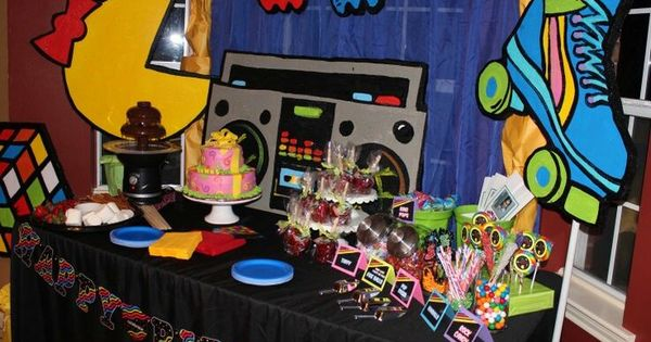 1980s party city decorations google search cumple sara for 1980s party decoration ideas
