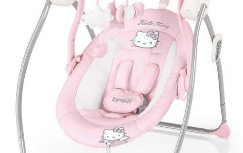 Hello Kitty Miou Baby Swing ... | Hello kitty stuff ...