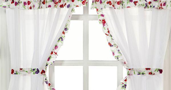 Cortinas de cocina cortinas pinterest cortinas de - Cortinas encima de radiadores ...