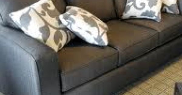 gray couch love the pillows too i think i am going to paint my couch home sweet home. Black Bedroom Furniture Sets. Home Design Ideas