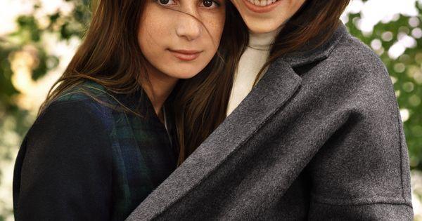 Photos charlotte gainsbourg et sa fille alice g ries - Comptoir des cotonniers mere et fille ...