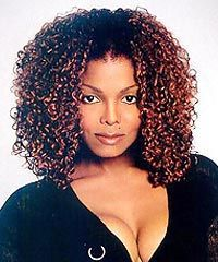 Janet Jackson Curly Hair Google Search Afro Textured