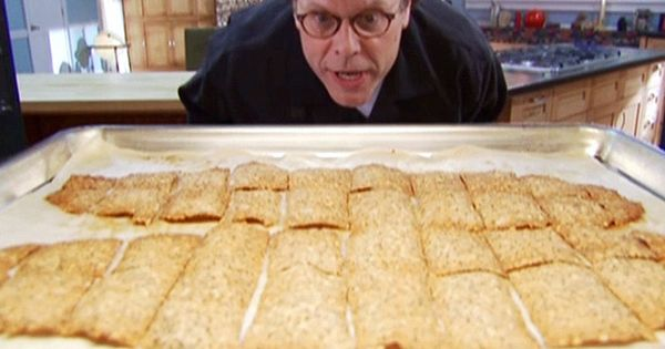 Alton brown whole wheat crackers