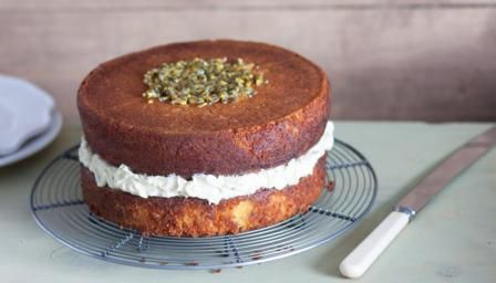 Gluten Free Passion Fruit And Coconut Cake Recipe Food Coconut Cake Recipe Coconut Cake