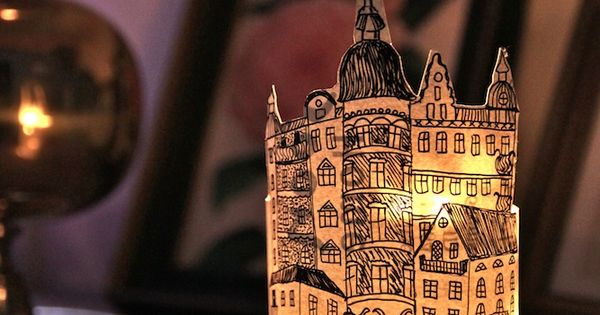 DIY: paper lantern diy light paperlantern paper Home homedecor decor
