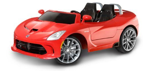 Kid Trax Dodge Viper Srt Convertible 16v Ride On Kid Trax Http