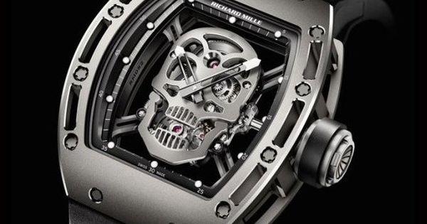 Richard Mille RM 052 Tourbillon Skull watch.
